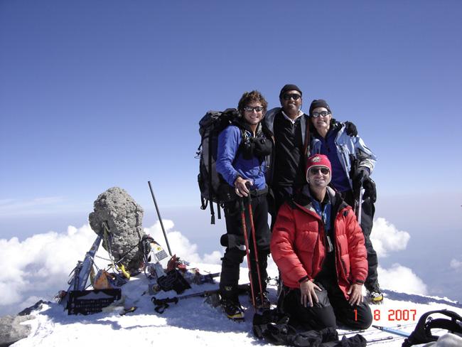 Mt Elbrus Climb