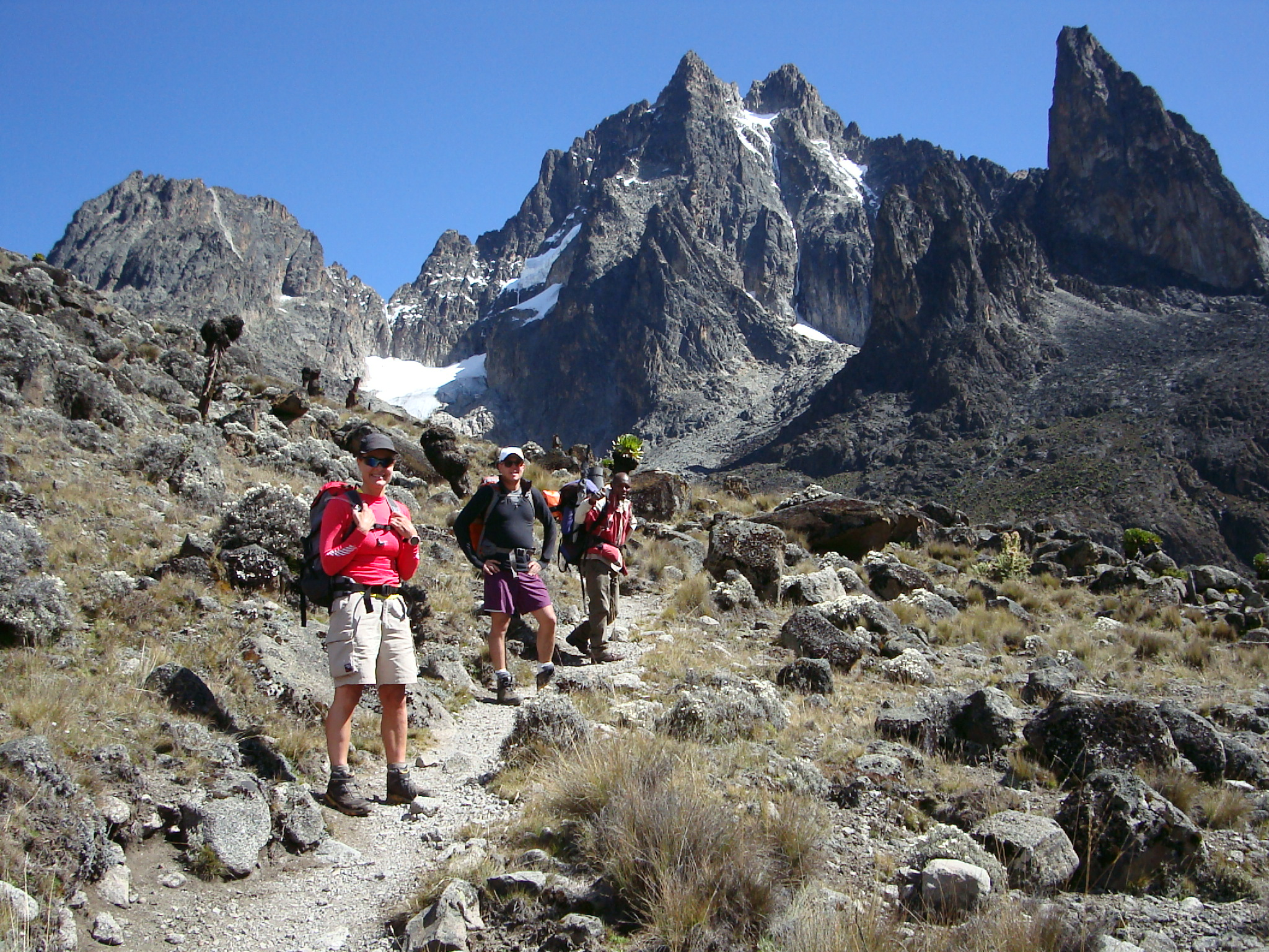 Trek in/out of Mt Kenya