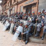 Local police in Kathmandu